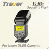 Travor SL-582N-I-TTL flash Speedlite para DSLR Nikon
