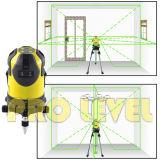 4V4h1d Auto-Leveling électronique niveau laser vert (SCHO-444G)
