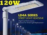 工場価格の屋外の街灯120WはLEDの街灯を細くする