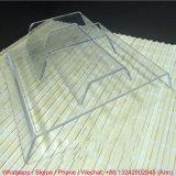 Crémaillère d'étalage acrylique claire populaire pour des chaussures et des sacs
