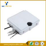 IP65 Exterior 8 Salidas Caja Terminal /Fiber Optic Distribution Box (con Entrada Ovlada)