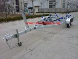 Reboque de barco com rolos curvos Tr0216
