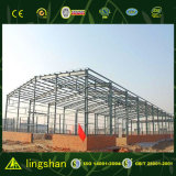 Edifício da construção de aço da grande extensão para o armazém e a planta