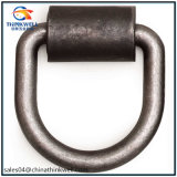 Heavy Duty Forged Carbon Steel D Ring com suporte