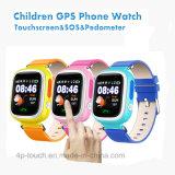 1.22'' a los niños de la pantalla táctil de colores reloj GPS Tracker (D15)