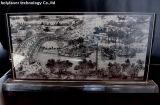2D große Gravierfräsmaschine Hsgp-2513 Glaslaser-3D