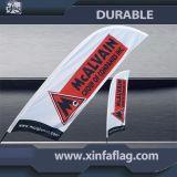 Farbenreiche Drucken-Strand-Markierungsfahnen-Fahne, Feder-Markierungsfahne
