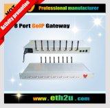 8 de Gateway VoIP van kanalen GSM/CDMA (Gateway GoIP) (eth-GOIP8)