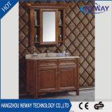고아한 백색 단단한 나무로 되는 가정 중국 목욕탕 허영