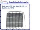 Condensatore del tubo del filo di acciaio Krcr-06 per la vetrina