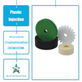 Kundenspezifische Plastikprodukt-Bauteil-industrielles Geräten-Maschine zerteilt Plastikgang-Spritzen