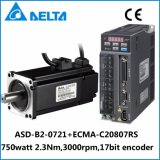 Servo motor do codificador do delta B2 750W 17bit de Hotsale
