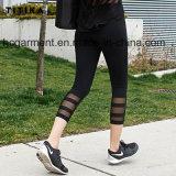 Vêtements d'entraînement pour femme, jambières de gymnastique, pantalons Capri