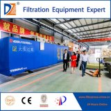 Prensa de filtro hidráulica del compartimiento de la máquina química del filtro de DZ