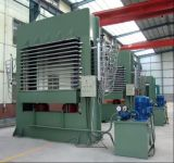 máquina de carpintería de madera contrachapada/ Máquina prensa caliente