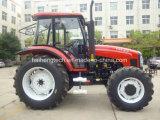 Yto 엔진을%s 가진 최신 판매 농업 트랙터 100HP 4WD