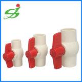 Alta calidad de UPVC BSPT octogonal de la válvula de bola
