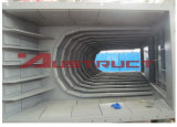 Механически биметаллическая стальная плита вкладыша износа фидера частей износа