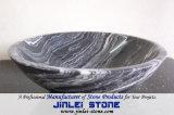 Раковины естественного камня мрамора сосуда санитарные для ванной комнаты/кухни