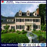 casa de la estructura de acero de la luz del diseño 3D
