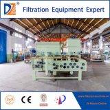 Deshidratación de lodos de alta eficiencia del filtro de la correa de la máquina de prensa