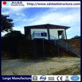 Estructura de acero galvanizado de clase alta casa de pequeños prefabricados