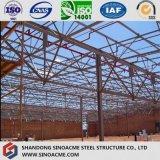Structure en acier d'armature pour l'atelier préfabriqué