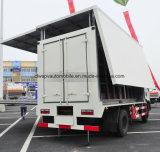 Carro de la promoción de la etapa al aire libre de Dongfeng 4X2 con la pantalla del funcionamiento del LED