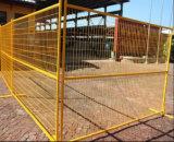 painel da cerca de 6FT*10FT/cerca provisórios soldados Canadá açambarcamento da construção