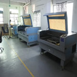 Corte de cuero 1610 del laser de la máquina de grabado