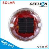Marqueur de chaussée solaire en plastique