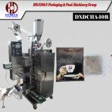 자동적인 두 배 티백 패킹 기계장치 (모형 DXDCH-10B)
