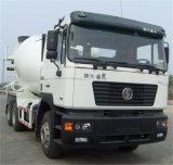 Shacman 9m3 con el camión hormigonera chasis militar