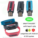 Pen carregador Bluetooth Smart Wristband com Heart Rate Mornitoring (HB02)