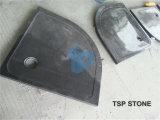 Anillo de piedra gris de la tina de la ducha G654