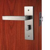Fechamento de porta inoxidável do punho interior de fechamento de porta do Mortise da placa de aço