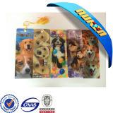 애완 동물 Lenticular Lens Lenticular 3D Bookmarks