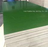 O plástico enfrentou a colagem da cor verde WBP da madeira compensada para Shuttering