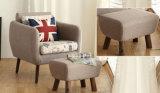 Sofà di legno solido del fabbricato del salone (M-X2173)