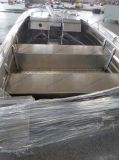 Speed Fast Alumínio Alloy Boat em Big Sea