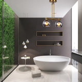 Moderner DIY Glasfarbton-Decken-hängender heller Leuchter-hängende Wohnzimmer-Innenlampe