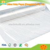 Película plástica translúcida de la cubierta del HDPE para el sitio de corte de la ropa cad