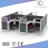 Stazione di lavoro di legno della mobilia del migliore di colore cubicolo moderno dell'ufficio