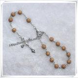 Rosary автомобиля - Rosary автомобиля певтера St Benedict/браслет Rosary (IO-CB122)