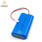 18650 1500mAh 7.4Vの再充電可能なリチウム電池のパック