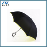 Guarda-chuva invertido do pára-sol do guarda-chuva Dobro-Camada reversa