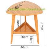 Горячий продавая журнальный стол круглой древесины мебели малый