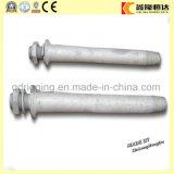 Geschmiedeter Stahl galvanisierter Spindel-IsolierungPin