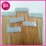 100%の人間の毛髪のRemyテープ毛延長