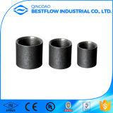 Accoppiamento mercantile del filetto pieno nero del acciaio al carbonio